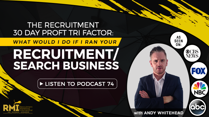 Podcasts recruitment marketing international podcast 74 the recruitment 30 day profit tri factor what would i do if malvernweather Gallery